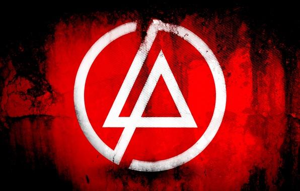 Картинка красный, фон, логотип, linkin park