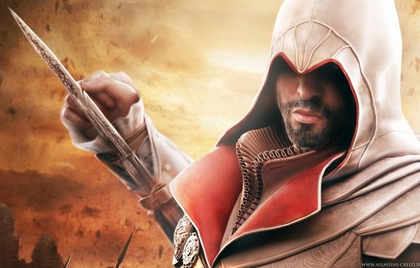 Картинка Assassins Creed, brotherhood, братство, ассасин