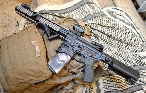 Картинка оружие, сумка, AR-15, Pistol