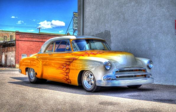 Картинка дизайн, ретро, HDR, автомобиль, классика