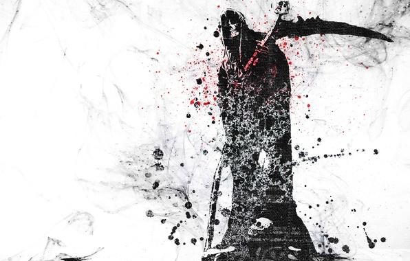 Картинка Вектор, Череп, Смерть, Гранж, Skull, Vector, Wallpaper, Death, Grunge