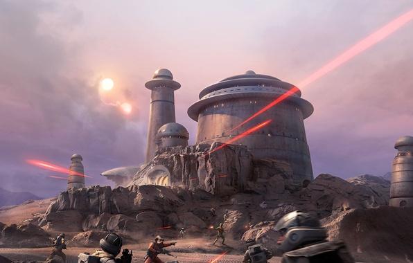 Фото обои Electronic Arts, DLC, Star Wars: Battlefront, EA DICE, Outer Rim