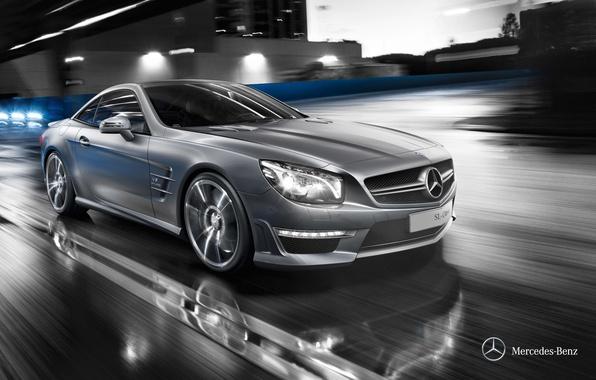 Картинка Mercedes-Benz, кабриолет, мерседес, 2011, R231, SL-class