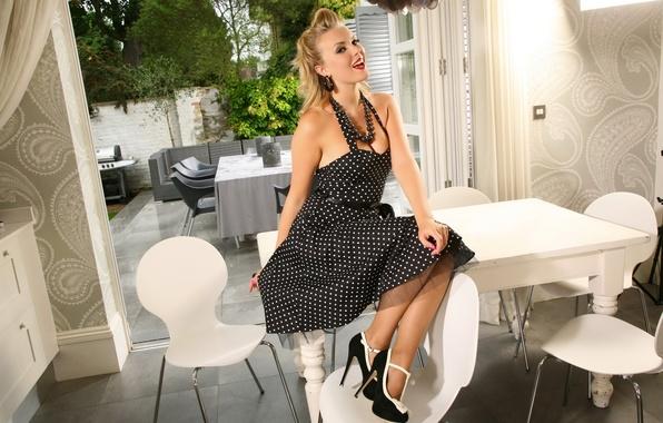 платье в горошек фото ххх