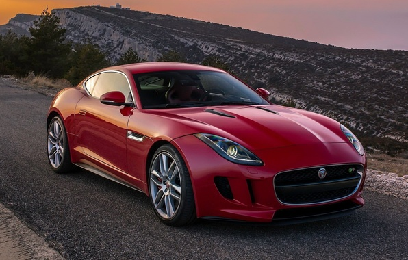 Картинка jaguar, coupe, f-type