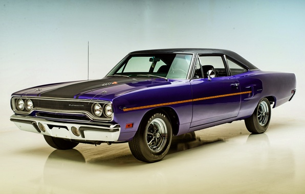Картинка купе, Coupe, 1970, Plymouth, плимут, Road Runner, роад раннер