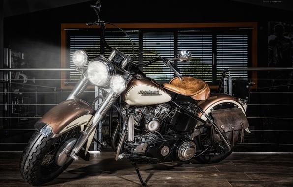 Картинка Harley Davidson, bike, motorcycle, chopper.