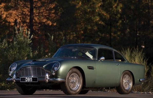 Картинка авто, Aston Martin, астон мартин, классика, DB5