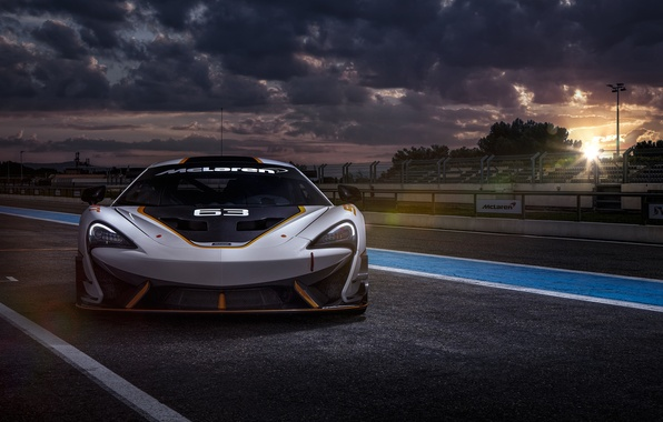 Картинка McLaren, Car, Race, GT3, Day, Track, 650S