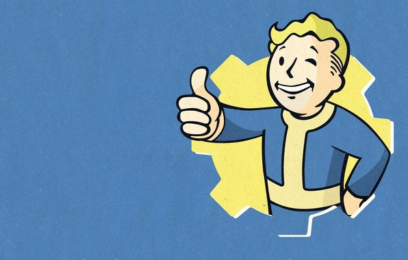 Картинка Bethesda Softworks, Bethesda, Bethesda Game Studios, Fallout 4, The Art of Fallout 4, Vault Boy, ...