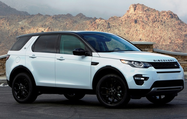 Картинка Land Rover, Discovery, Sport, дискавери, ленд ровер, US-spec, 2015, HSE, L550
