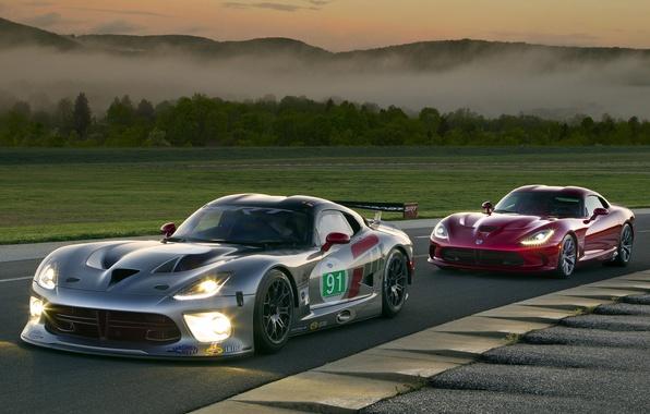 Картинка Dodge, Viper, GTS, SRT, DriveSRT, Гоночный трек, GTS-R, Stryker, Street and Racing Technology, Американский суперкар, …