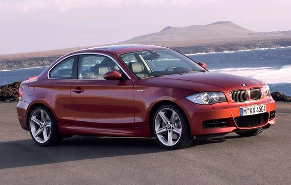 Картинка Авто, BMW, Машина, Бумер, БМВ, Оранжевый, Купэ