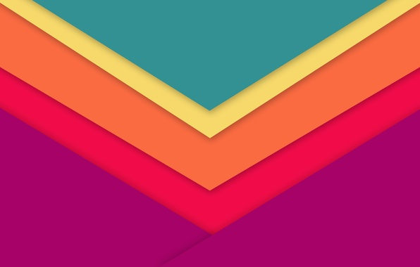 Картинка Android, Design, 5.0, Lines, Lollipop, Material, Triangles, Angles, Abstractions