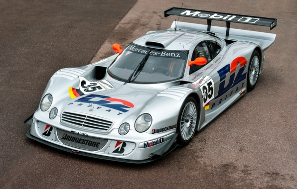 Картинка Mercedes-Benz, GTR, мерседес, AMG, Racing, амг, 1997, CLK-Class