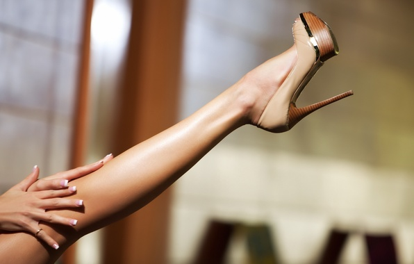 Картинка обувь, стройная, кольцо, ножка
