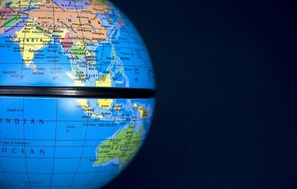Картинка земля, шар, глобус, страна