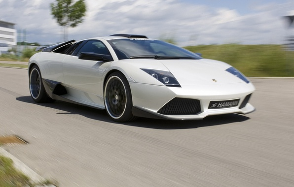 Картинка дорога, скорость, Lamborghini, ламбо, суперкар, Hamann, Murcielago, LP640
