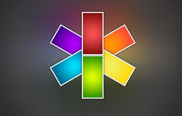 Картинка цвета, дизайн, абстракция, стиль, креатив, радуга, минимализм, colors, creative, abstract walls