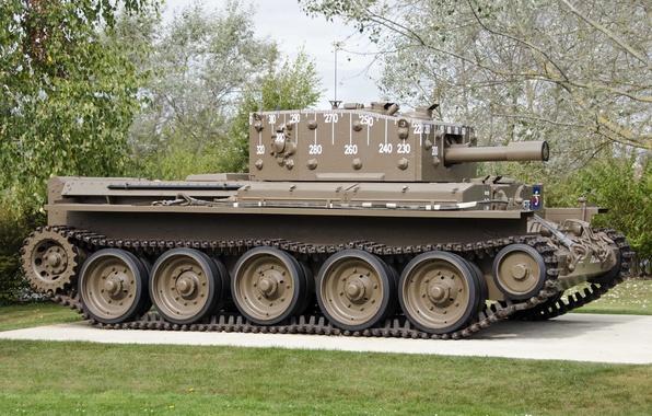 Картинка войны, танк, средний, крейсерский, периода, мировой, Второй, Cromwell IV, «Кромвель»