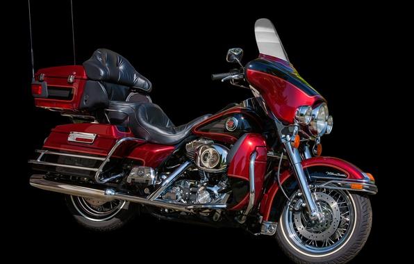 Картинка стиль, мотоцикл, байк, Harley-Davidson
