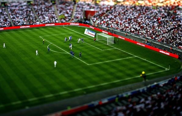 Картинка белый, трава, синий, игры, люди, ситуации, спорт, игра, человек, ситуация, мячи, ворота, зелёный, парни, футболисты, …