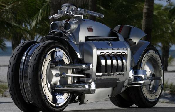 Картинка future, chopper, moto