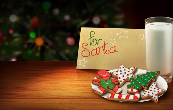 Картинка цвета, елка, красота, colors, colorful, молоко, Рождество, красивая, Happy New Year, Christmas, красочные, хорошо, beautiful, …