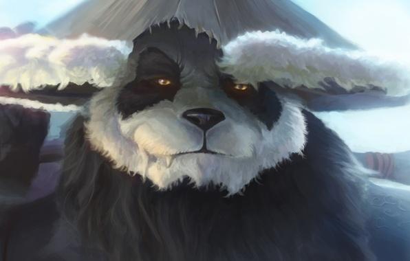 Картинка World of Warcraft, Warcraft, wow, art, Mists of Pandaria, panda