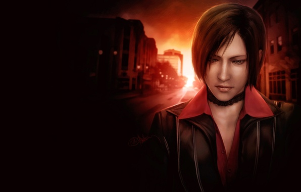 Картинка Resident Evil, Biohazard, Ada Wong, Resident Evil: Damnation