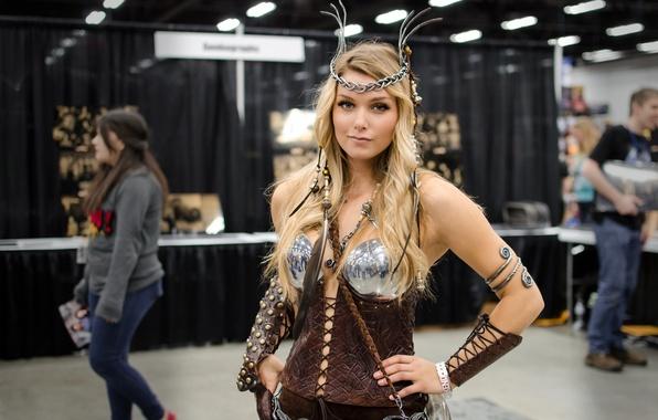 Картинка girl, валькирия, косплей, cosplay, valkyrie