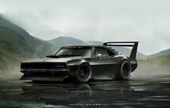 Картинка Dodge, ART, Charger, khyzyl saleem