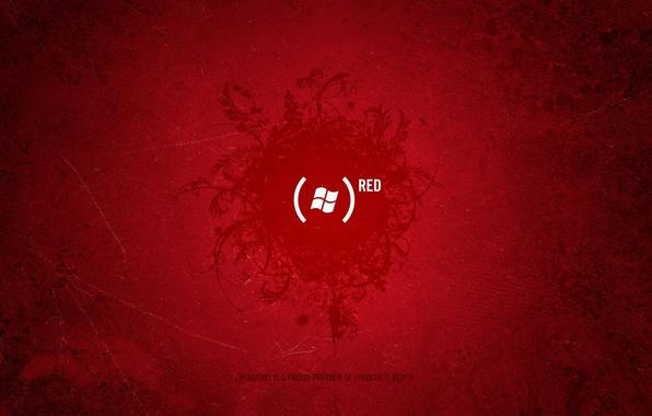 Картинка красный, надпись, логотип, Текстура, скобки