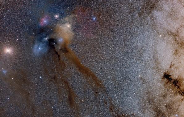 Картинка космос, звезды, туманность, красота