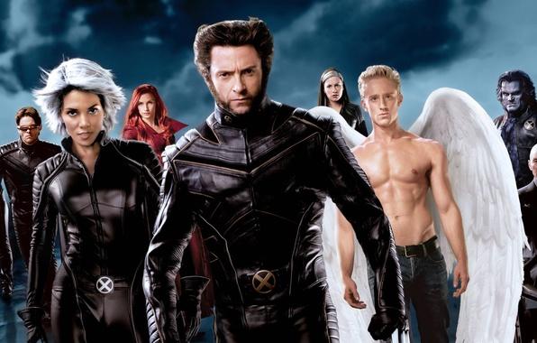 Картинка гроза, зверь, Halle Berry, Холли Берри, феникс, Famke Janssen, Wolverine, Hugh Jackman, X-Men, Logan, Storm, ...