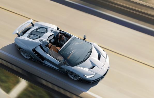 Картинка машина, авто, обои, Roadster, скорость, Lamborghini, auto, wallpapers, Centenario