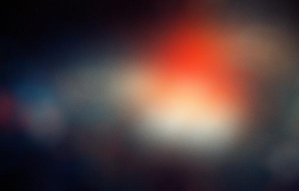 Картинка свет, пятна, шум, ярко, blue, macro, orange, blur, color, боке, bokeh, бокэ, грейн, grain, lens …