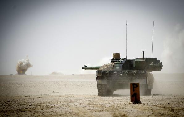 Картинка танк, боевой, французский, основной, Leclerc, AMX-56, (ОБТ)