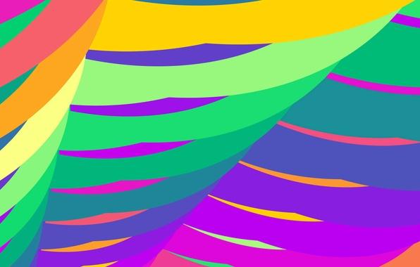 Картинка линии, цвет, дуга, парус