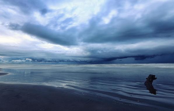 Картинка море, облака, Iran, Mazandaran