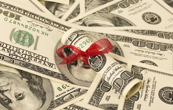 Картинка money, dollars, tape