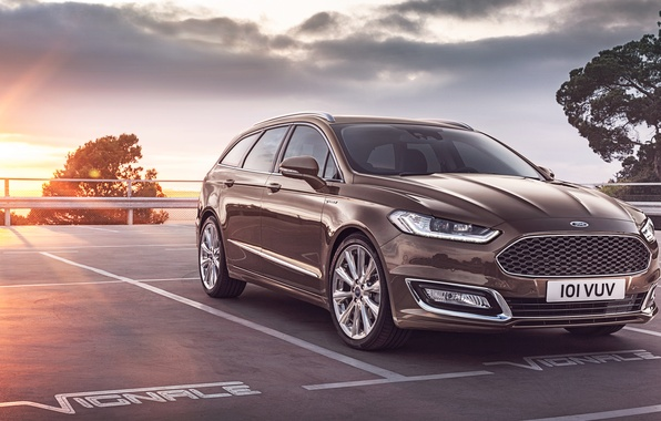 Картинка Ford, форд, универсал, мондео, Mondeo, 2015, Turnier, Vignale