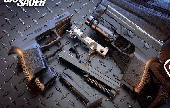 Обои пистолет пули обоима стволы