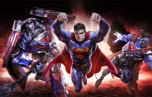 Картинка art, Superman, mmorpg, Clark Kent, DC comics, Warner Games, infinite crisis, Kal-El