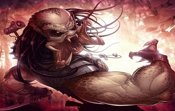Картинка Хищник, Art, Predator, Patrick Brown