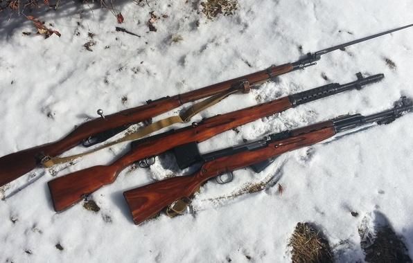Картинка оружие, Россия, винтовки, штык