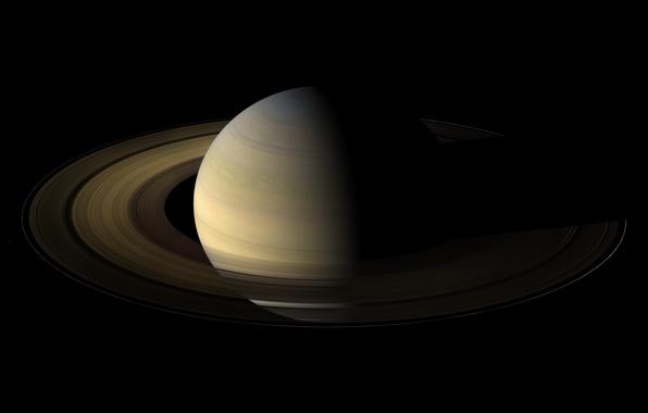 Картинка Сатурн, Планета, Кольца