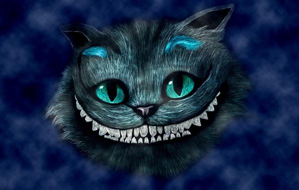 Чеширский кот на рабочий стол картинки 5