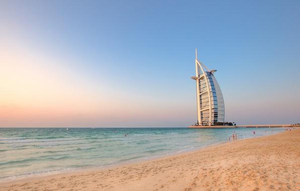 Картинка пляж, Дубаи, отель