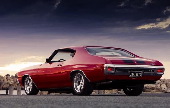 Картинка Chevrolet Chevelle SS, шевроле, muscle car